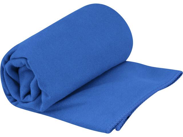 Sea to Summit Drylite Handdoek Antibacterieel S, blauw